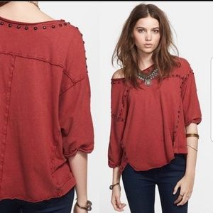 Free People Dillon Studded top